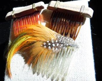 Three Hair Combs 1980's