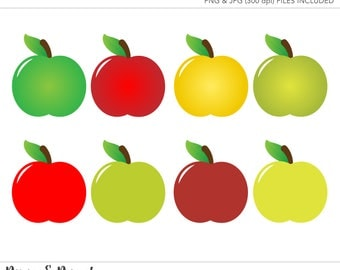 apple fruit clip art. commercial use clipart, clip art, apple fruit art