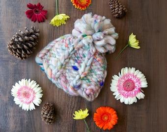 Take a Chance Hat Pattern ~ Knitting Pattern for chunky, bulky yarns
