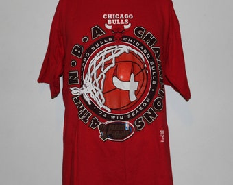 Vintage Chicago Bulls 1996 NBA Champions T-Shirt XL