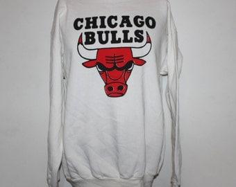 Vintage Chicago Bulls NBA Crewneck Sweatshirt XL