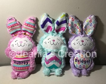 Personalized Stuffed Bunny/ Personalized Easter Bunny/ Easter Bunnies, Easter bunny
