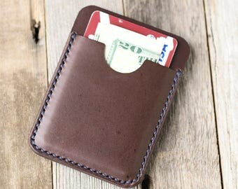 Leather Card Holder Leather Card Wallet Minimalist Card Holder Slim Leather Wallet Full Grain Leather Minimalist Wallet Handmade Handcrafted