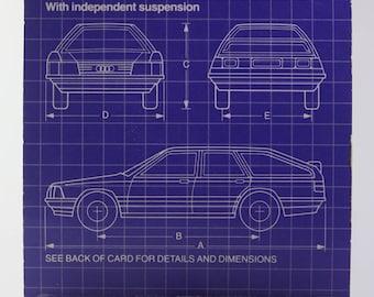 1980's scarce  NOS Siku Eurobuilt 1:55 die cast scale model Audi 5000S Wagon _Free Shipping Domestic USA