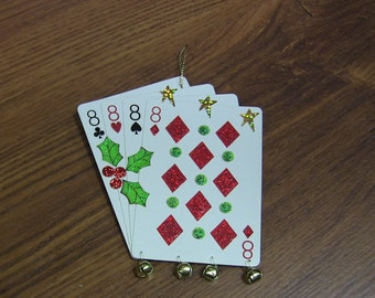 Holiday Tree Ornament - Four Eights