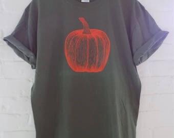 Pumpkin Shirt, Halloween Shirt, Food Shirt