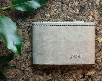 Men's Slim Wallet| Minimalist wallet| Front pocket wallet| Small wallet| Thin Men's Wallet| Custom Minimalist Wallet With Coin Pouch