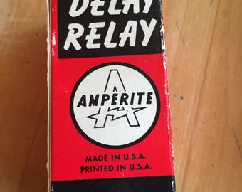 Amperite Delay Relay Tube