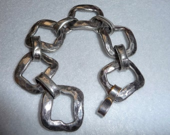 Bracelet. Pewter. Denmark. Vintage.
