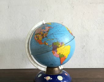 Vintage Ohio Arts School Globe, with Planets