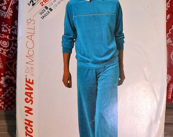 McCall's Track Suit Pattern