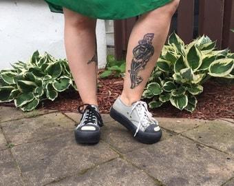PLATFORM SNEAKERS Rocket Dog platform shoes silver sneakers