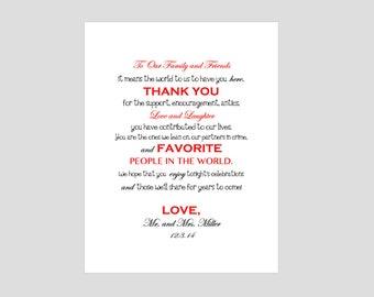 Wedding Thank You Download
