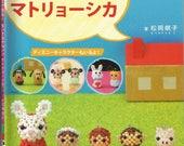 Matryoshka Roly Poly Beads Charms (BDS06),Japanese Craft eBook, Disney Beads, Animal Beads, Animal Keychains,Matryoshka Beading PDF Pattern