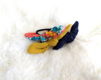 Hair ties, hair bows, 3 pack