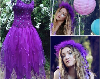 Adult  Halloween  PLUS SIZE Costume  ~  Tulle Headpiece  ~ Bachelorette Party ~ Fantasy ~ Theatre ~ Ballet and Dance Costume