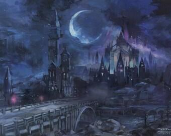 "Dark Souls IRITHYLL - signed 24X18"" poster"