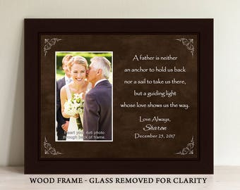 Parents Wedding Gift, Parents of the Bride, Father of the Bride Gift, Thank You Gift, Personalized Picture Frame