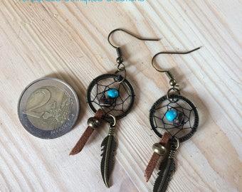 """Dreamcatcher """"Mukki"""" earrings"""