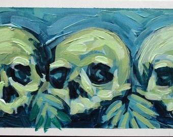 Blue Period Skulls