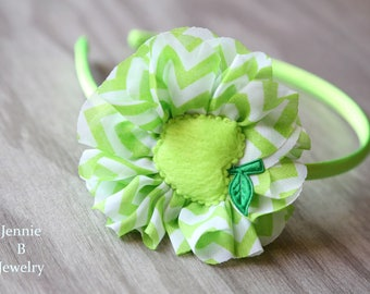 Back To School Green Apple Headband