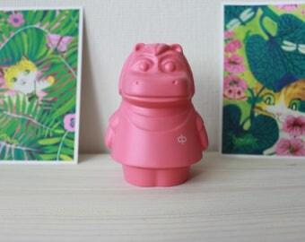 Pink hippo piggy bank