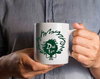 Gift for Dad, Dr Seuss Inspired Gift for Dad Mug, Dad I Am,  Coffee Mug for Father, Gift for Parent Birthday Anniversary, 11 & 15 ounces