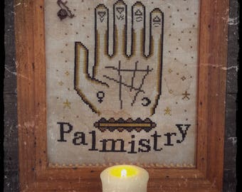 Palmistry - PDF Cross Stitch Pattern