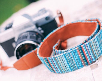 Woven Camera Strap for all Cameras - Hippy Strap Style