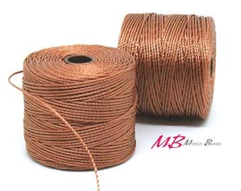 Copper S-Lon Macrame Cord 77 Yards, Nylon Beading Cord .5 mm