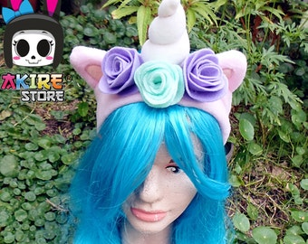 unicorn headband  light purple