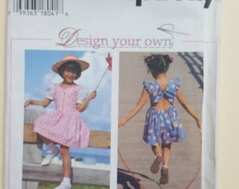 Simplicity Pattern for a Child Sizes 5-8