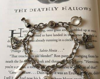 Harry Potter Inspired Horcrux Charm Bracelet