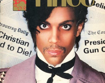 Prince Magazine 1984  33 Years Old  He was 26 when published  Prince Nelson  All Prince, Vanity 6, Morris Day and the Time and Apollonia 6