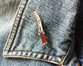 Supernatural first blade pin badge