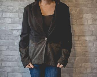 Medium black blazer