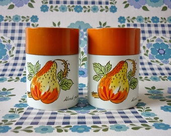 Hand Painted Japanes Salt and Pepper Shaker