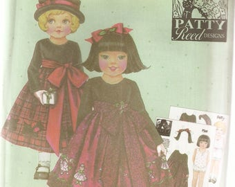 Simplicity Sewing Pattern 4905 - Patty Reed Designs - Children's Clothes - hild's Cress, Sizes 3-4-5-6