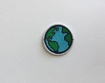 Earth Iron on patch