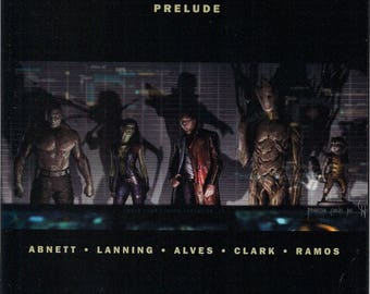 Marvel Comics,Guardians of the Galaxy Prelude GN,Groot,Star-Lord,Thanos,Rocket Raccoon,Gamora,Drax,Iron Man,Hulk,Marvel Cinematic Universe