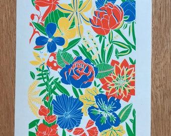 Plant Print | Original Screen Print