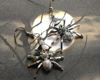 Halloween Jewelry, Halloween Earrings, Spider Earrings, Halloween Gift Idea, Earrings, Spiders