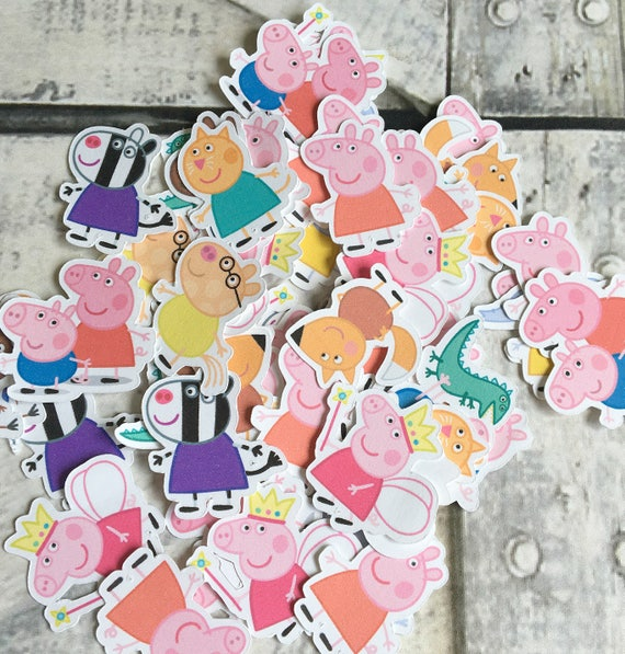 Confetti - Peppa Pig,Peppa Pig Birthday Party,Peppa Pig Party Decorations,Peppa Pig Party Supplies,Die Cuts,Confetti,Peppa Pig Birthday