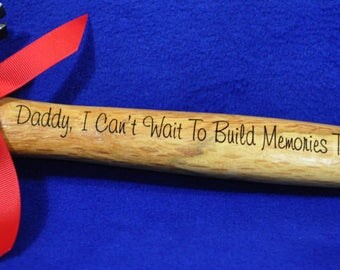 Gift For New Dad ~ Birthday Gift For Dad ~ Dad Gift ~ Step Dad Gift ~ Engraved Hammer ~ New Dad Gift ~ To Dad From Baby ~ Gift For Husband ~
