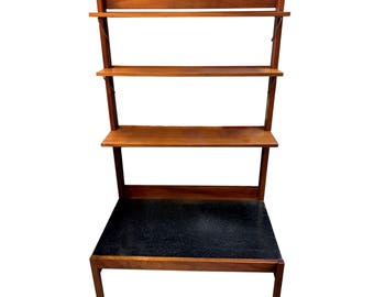 Rare 60s Mid Century vintage Guy Rogers Beverly Hills display shelving unit