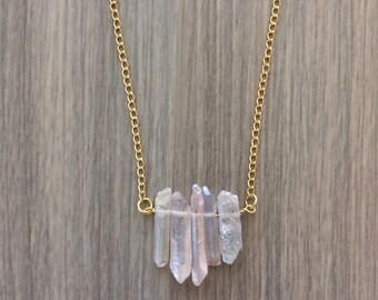 Kindness - Pastel Quartz Necklace