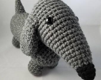 Amigurumi Crochet Dachshund