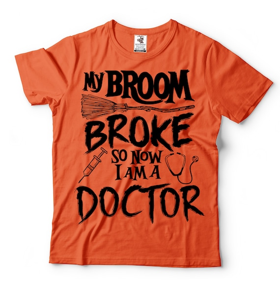 Halloween Funny Doctor T-shirt Halloween Costume T-shirt