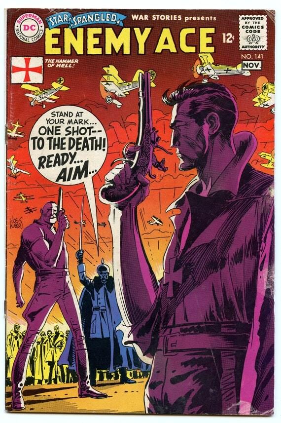 Star Spangled War Stories 141 Nov 1968 VG- (3.5)
