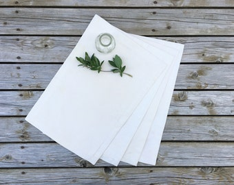 Marigold Placemats (set of 4) - Naturally Dyed and Re-loved